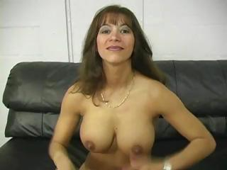 cougar boob pierce latina lady