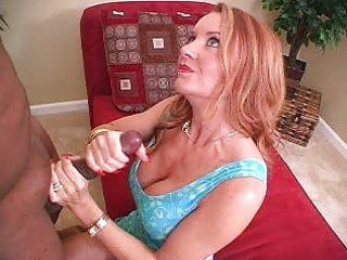 sexy milf amateur wife interracial cuckold handjob