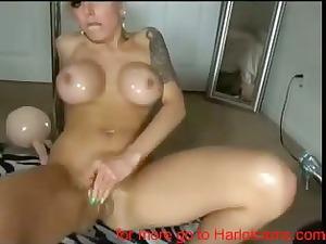 hot shape on webcam