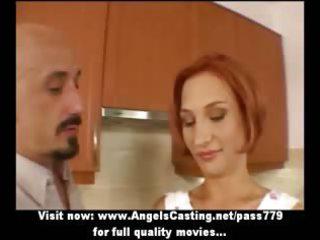 fresh shocking redhaired wonderful wife talking