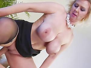 naughty blond lady