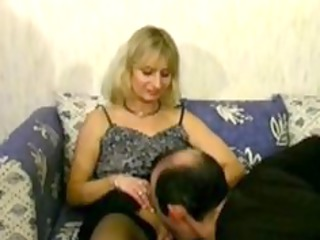 pale cougar cheats on her man