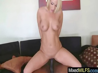 horny woman own pierced difficult by brown dick
