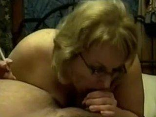 older  mature smoking blowjob