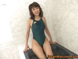 naughty japanese mature sluts licking