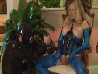 horny mature blonde demonstrates her love of