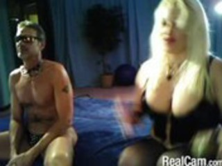 older  bleached domme on cam