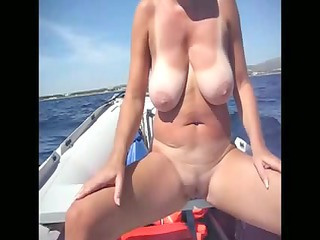 young sea coast voyeur giant tits lady