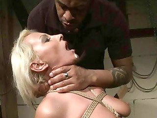 hot milf getting bondaged and punished
