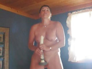 woman and her sex toy