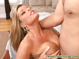 giant tits mature babe drilled difficult