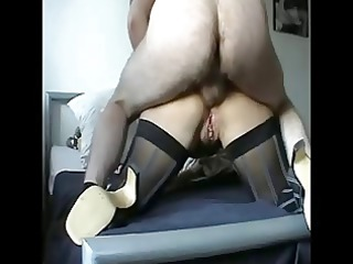lady does ass