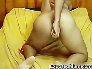 indian milf with small jugs goes naked