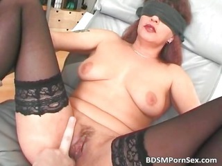 bdsm fuck sex where brunette lady