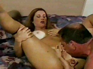 awesome lady ingests several loads