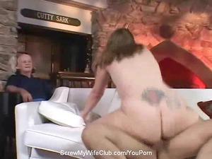 plump swinger wife screws stranger