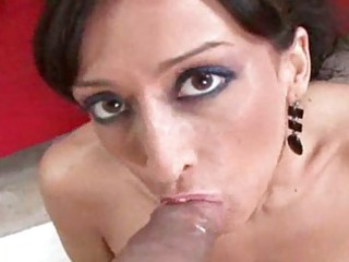 horny lady slut is a point of view dick sucking