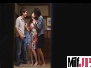 uneasy gang-banging a awesome japanese mature
