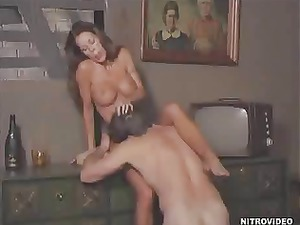 Erotic sex with cock ring