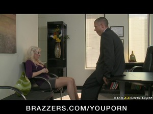 big boob blond mature babe wife in stockings fuck