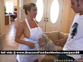 older  naughty bleached bitch at house