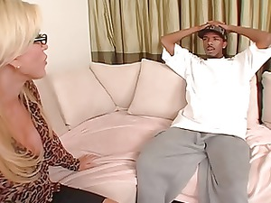 awesome milf attractive girl lynns bbc takeover