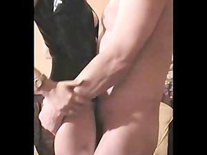 mrs b dark latex 2 fuck, titslap and handjob