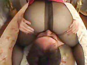 sexy black nylons