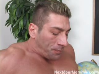 blonde grownup lady acquires it anal