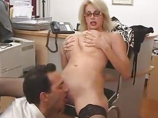 huge boobed woman with her boss...f70