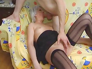 wonderful older  36 russian mom with a fresh male