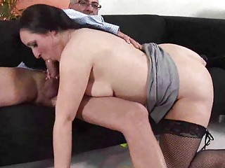 horny american lady obtaining shagged