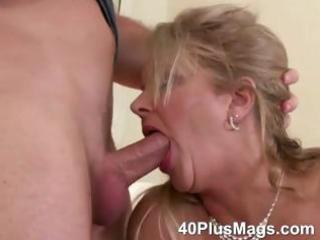 cougar mouth and vagina drilling skills