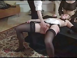angel and maid tied and fisted