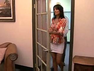 horny lady zoe holloway drilling into bureau
