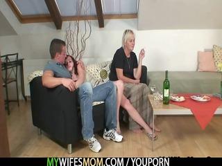 drunk oldie seduces me in sex