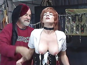 hot, mature redhead takes her cave toyed with,