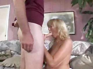cougar curvy blond rheina shine
