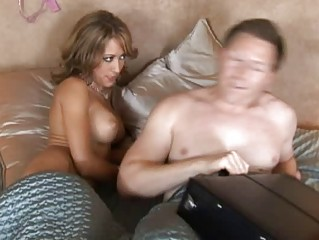 hot desperate blond maiden with large chest het