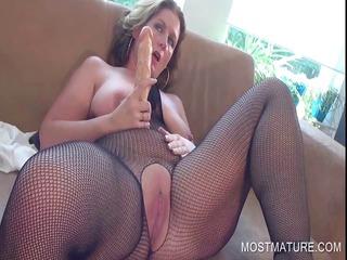 desperate older  pleasuring clitoris