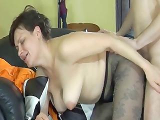 hot lady pushing dildo