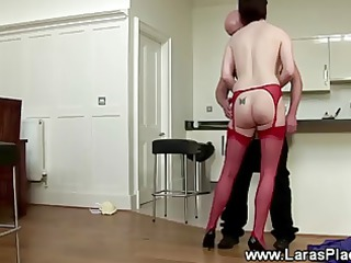 older in panties sucks dick and bangs