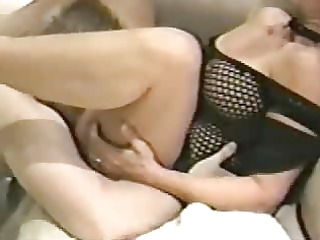 the family dentist drills my busty wife