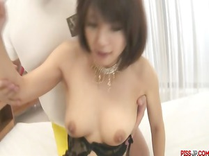 double pack in oral for azumi harusaki after