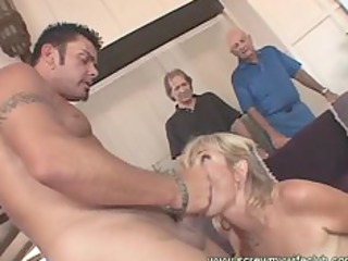 cougar wife enjoyed a wild porn with a celebrity