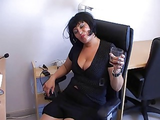 mature babe secretary part 3