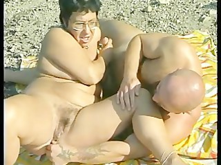 old gets pierced at the seaside