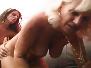 granny worships younger vagina