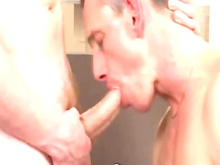 awesome grown-up man takes sucked and rimmed by