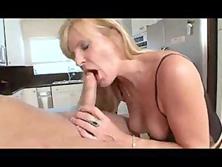 nina  awesome bleached granny in nylons
